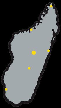 réseau de distribution à Madagascar